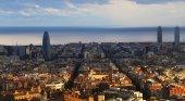 Vista de Barcelona, en Cataluña