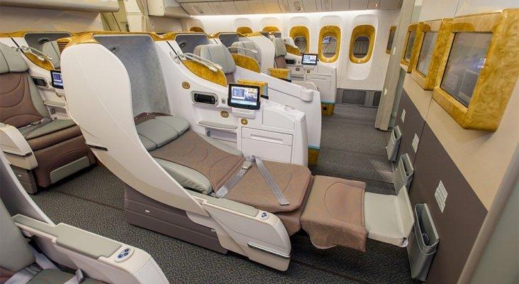 Cabinas business de Emirates