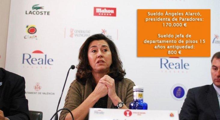 Angeles Alarcó, presidenta de Paradores de Turismo