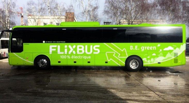 Flixbus, autobús 100% eléctricos