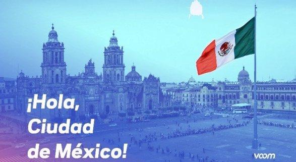 Voom llega a Ciudad de México