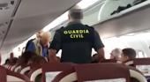 Expulsado pasajero de Binter por insultos racistas
