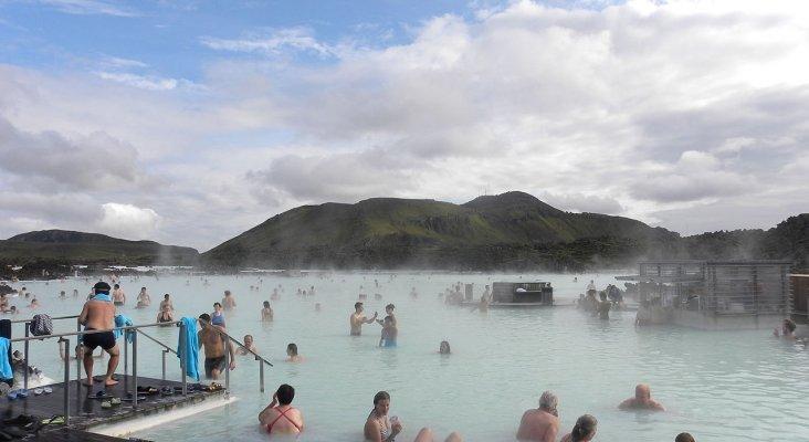 Lago Azul en Islandia