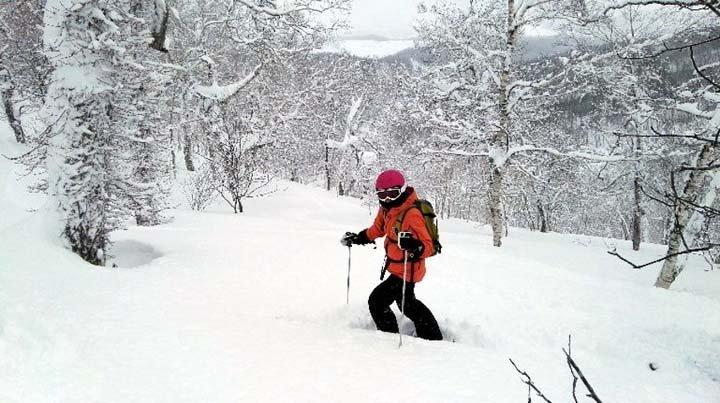 Esquí en Okkaido. Foto de Euromundo Global