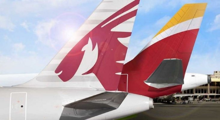 Iberia y Qatar Airways