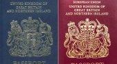 Los pasaportes británicos post-Brexit en manos de los franceses