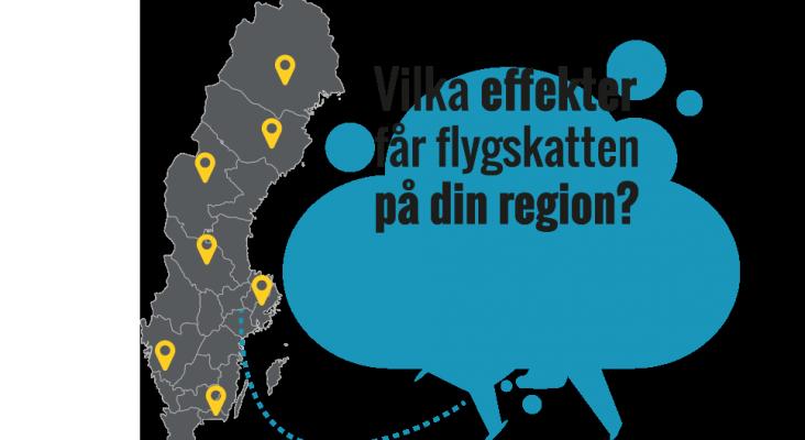 La 'tasa verde' de Suecia reducirá los vuelos Foto: Ett slag i luffen
