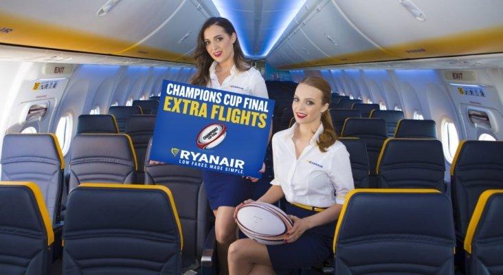 """Ryanair ofrecerá vuelos adicionales para la final """"española"""" de la Rugby Champions Cup"""