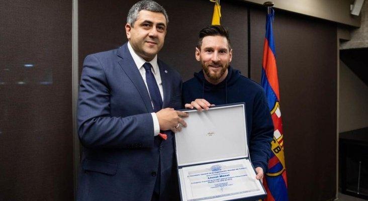 Messi, nuevo embajador del turismo responsable