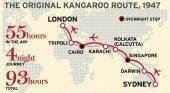 Las aerolíneas han dejado atrás la antigua ruta del canguro