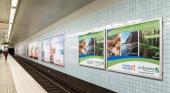 La Gomera se promociona en el metro de Estocolmo