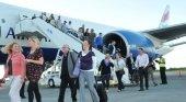 Turistas llegando a República Dominicana