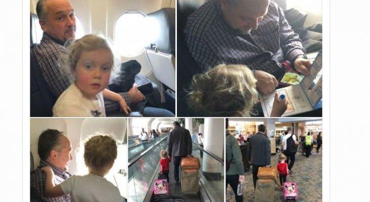 La solidaridad de un pasajero 'salva' a una madre en un vuelo de American Airlines