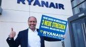 Protagonismo español en la nueva base de Ryanair