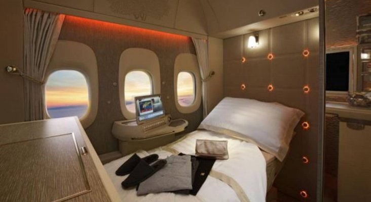 Emirates se inspira en Mercedes Benz para crear su suite privada