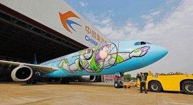 """China Eastern lleva a sus aviones """"hasta el infinito y más allá"""""""