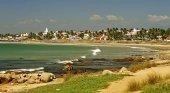 Playa de Kovalam, en la región india de Kerala