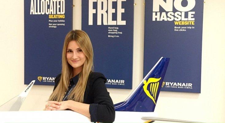 Alejandra Ruiz, nueva directora de Ventas y Marketing de Ryanair en España