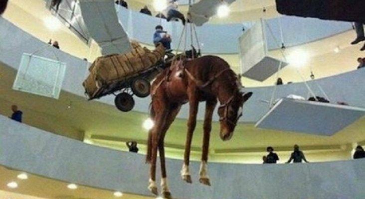 El Museo Guggenheim Bilbao acusado de maltrato animal