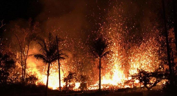 Primera víctima del volcán Kilauea