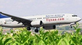boeing 737 impulsado por biocombustible