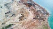 La comercialización de arena tiene efectos devastadores para el medio ambiente. Foto: SIM CHI YIN