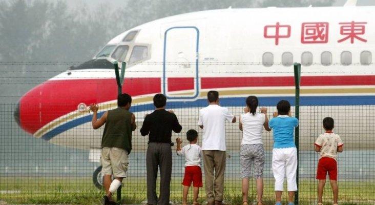 Los que están en la lista negra 'se quedan en tierra' en China. Foto de El Periódico de Aragón