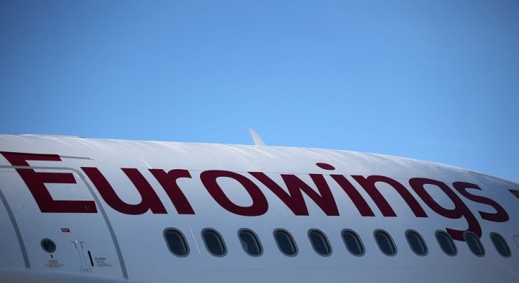Los vuelos cancelados por Eurowings aumentan un 760%