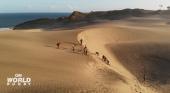 El éxito de la selección de Fiji, entrenar en las dunas