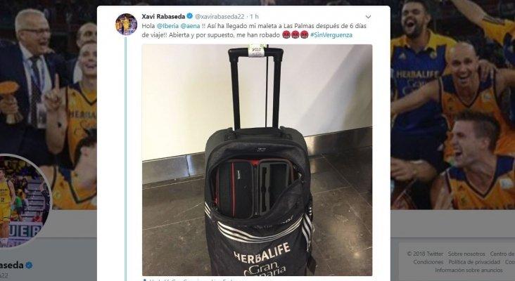 Iberia le juega una mala pasada a jugador del Herbalife Gran Canaria
