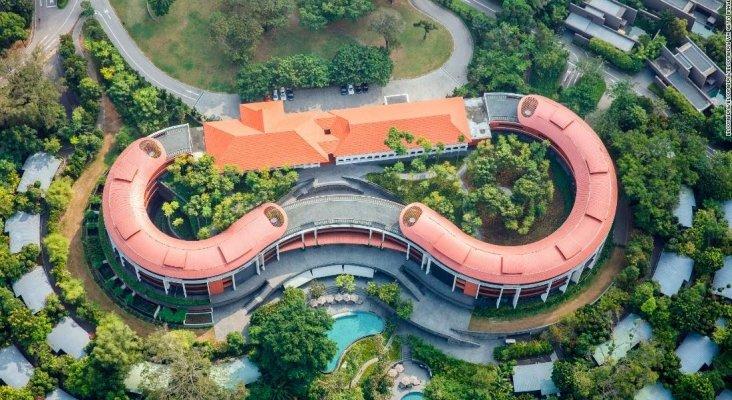 Un resort de lujo acoge el encuentro Trump-Kim. Foto de CNN