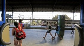 Los jóvenes recorren Europa en ferrocarril. Foto de Diario de Jerez