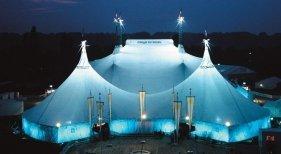 Cirque du Soleil llevará su espectáculo a Gran Canaria. Foto: Carpa blanca Cirque du Soleil