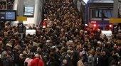 Huelga de ferrocarriles en Francia. Foto de La Vanguardia