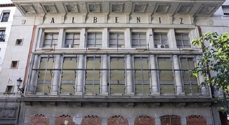 Teatro Albéniz de Madrid. Foto de Europa Press