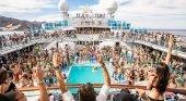 Pasajeros abandonan un crucero por culpa de una orgía. Foto de The Sun