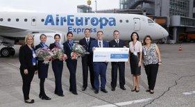 Air Europa conecta con Düsseldorf y aumenta su oferta alemana en un 32%
