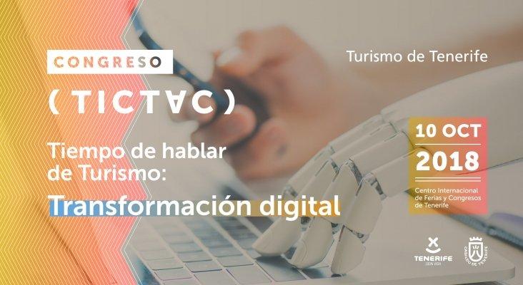Tenerife organiza en octubre un congreso sobre la transformación digital aplicada al turismo