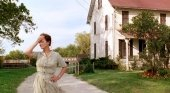 Meryl Streep, fotograma de Los Puentes de Madison, Mission Ranch Hotel detrás