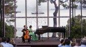Dúo Cassadó actuó en 2017 en Formentor Sunset Classic Festival