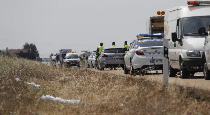 La familia ciclista atropellada en León realizaba el Camino de Santiago