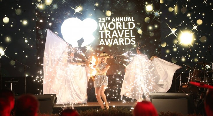 Discreta presencia de España en los World Travel Awards