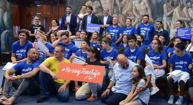 El Cabildo nombra embajadores de #YosoyTenerife a los participantes en la iniciativa '3.718 retos'