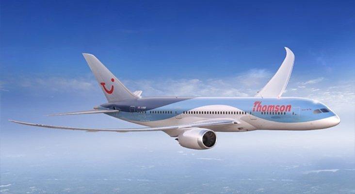 Avión de Thomson © TUI GROUP