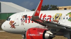 Air Malta sube a bordo a los personajes de Nickelodeon