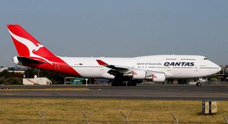 Qantas da un uso de última hora al Boeing 747 antes de retirarlo de su flota|Li Pang vía Wikipedia