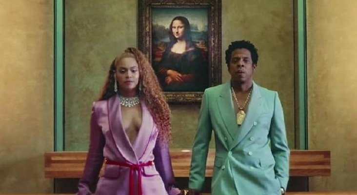 El Louvre usa a Beyoncé y Jay-Z para 'pescar' visitantes