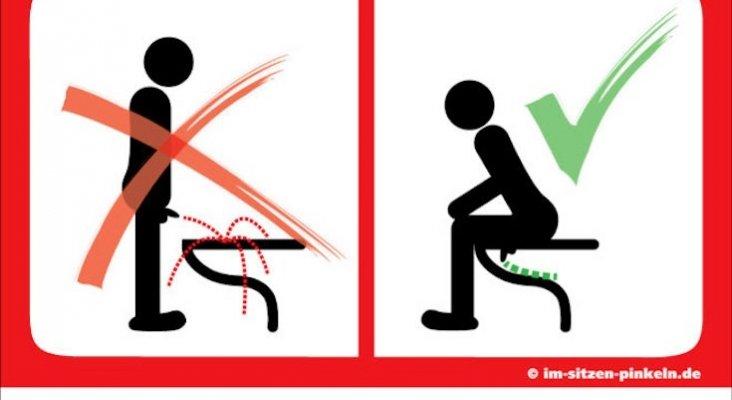 ¡Atento! En estos países debes orinar sentado. Foto: José Ángel León