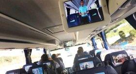 Los buses de TUI en Mallorca se convierten en centros de información rodantes