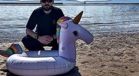 Flotador Unicornio (Foto: BBC News)